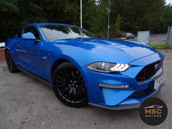 Ford Mustang 5.0 V8 GT Fastback 2dr Petrol SelShift (450 ps)